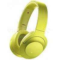 Наушники SONY MDR100ABNY Беспроводные Bluetooth, зеленый Лайм