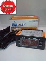 Контроллер температуры ELITECH ETC-974 (полный аналог ID-974, 2 датчика)