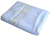 Крестильное полотенце (крыжма) 70х140 см