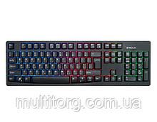 Клавиатура REAL-EL Comfort 7000 Backlit USB игровая с подсветкой