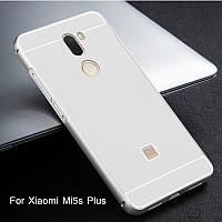 Алюминиевый чехол бампер для Xiaomi  Mi5s Plus , фото 1