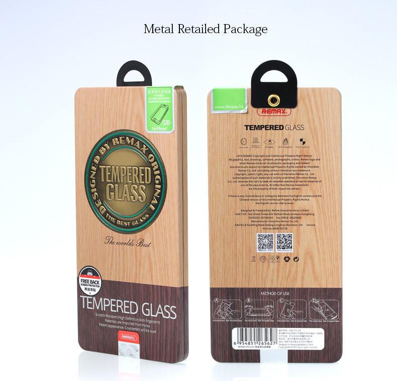 Защитное стекло Remax для iPhone 5 5S SE