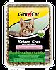 Gimpet Katzen-Gras трава с луговым ароматом  для кошек в лотке 150г (G-407005)