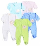 Комбинезон-человечек для малышей велюровый Baby (3-18 мес)