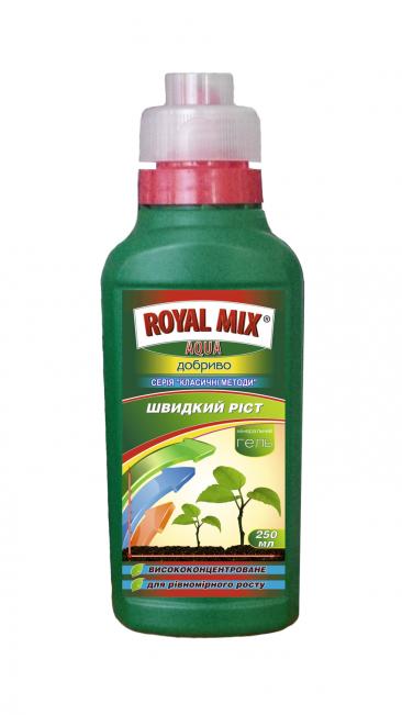 Удобрение минеральное быстрый рост ROYAL MIX Аква 0,25 л
