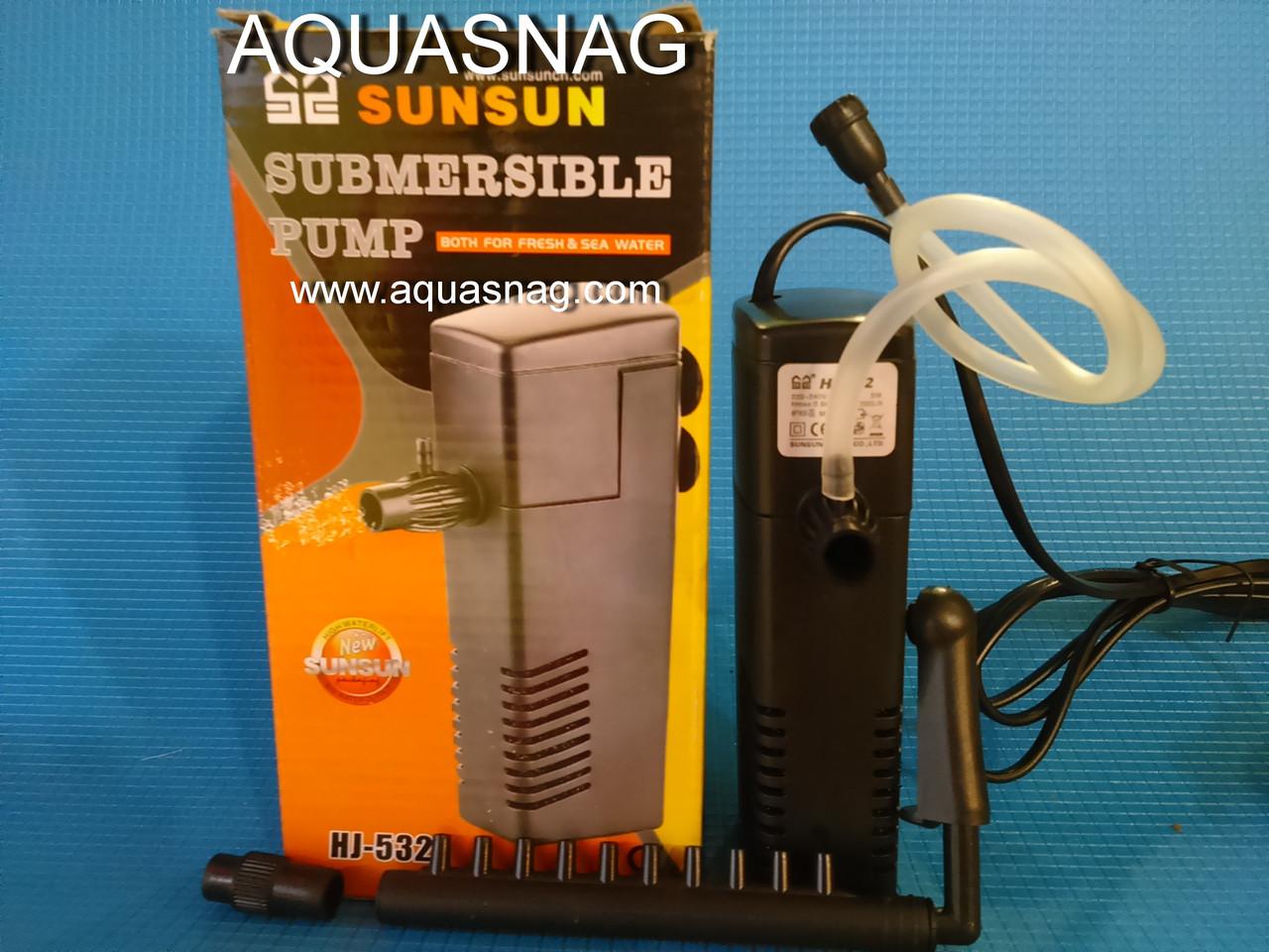 Внутренний фильтр SUNSUN HJ-532, до 100л