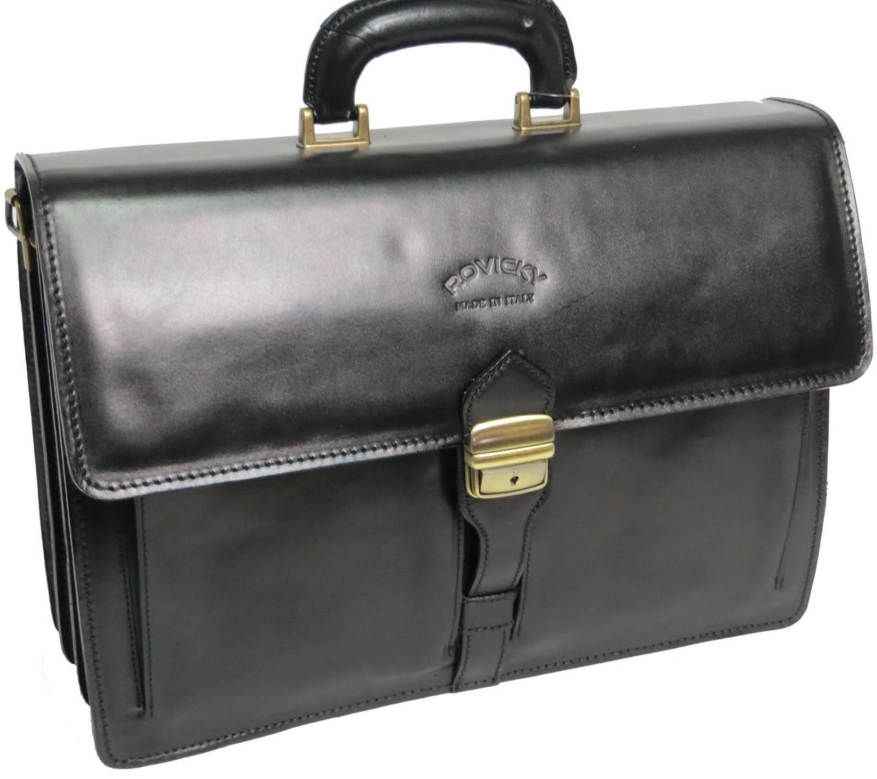 Деловой портфель из натуральной кожи Rovicky AWR-4