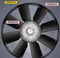 Муфта вязкостная с вент. 660мм КАМАЗ с Двиг. 740.30 740.31 (020002741)