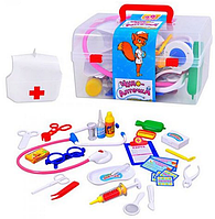 """Набор для игры в больницу в чемоданчике Доктор M 0459 U/R """"Чудо аптечка""""  HN KK"""