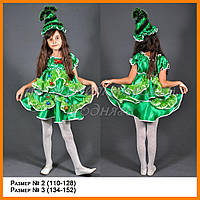 Карнавальный костюм елочка юбка и блузка