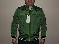 Мужская ветровка зеленая