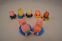 Свинка Пеппа, семья и её друзья резиновые (Peppa Pig)