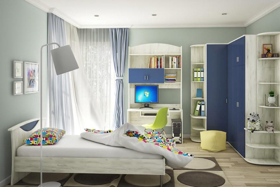 """Корпусная мебель в детскую комнату """"Домино"""", фото 1"""