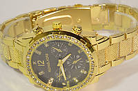 Женские часы MICHAE-L KOR-S GOLD Black копия, фото 1