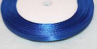 Лента атласная  852  синий ( индиго) 6 мм, фото 1