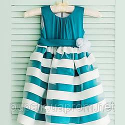 Платье нарядное Flavien 7021/02 бирюзовое