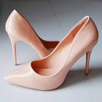 Туфли женские лодочки перламутровые