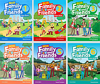 Английский язык для средней школы Family and Friends  (Student's Book + Workbook)
