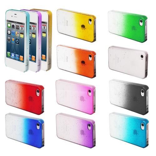 """Чохол для Apple iPhone 4/4S """"3D Краплі дощу"""""""