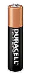 Батарейка пальчиковая Duracell (AAA, LR03)