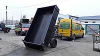 Прицеп самосвал для легкового авто 3м х 1,9м. Гидравлика! Сцепное переходник для трактора!