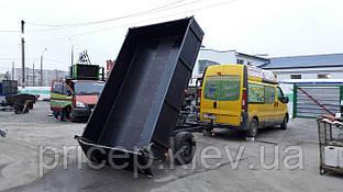Причіп самоскид для легкового авто 3м х 1,9 м. Гідравліка! Зчіпний перехідник для трактора!