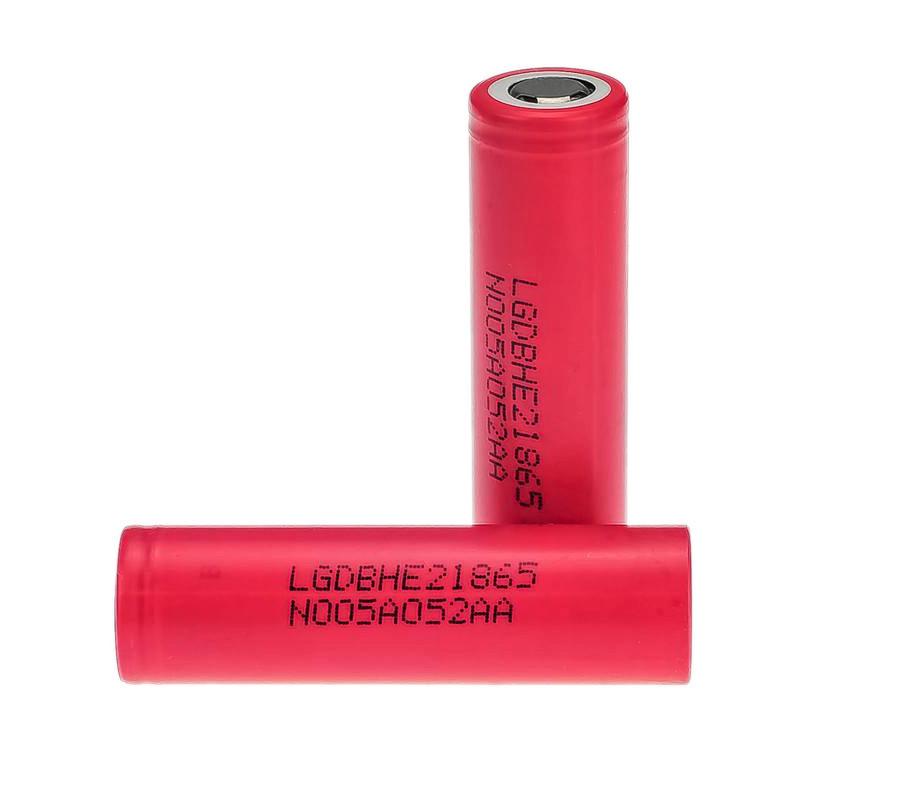 Аккумулятор LG 18650 (DBHE21865) 2500 mAh Li-Ion