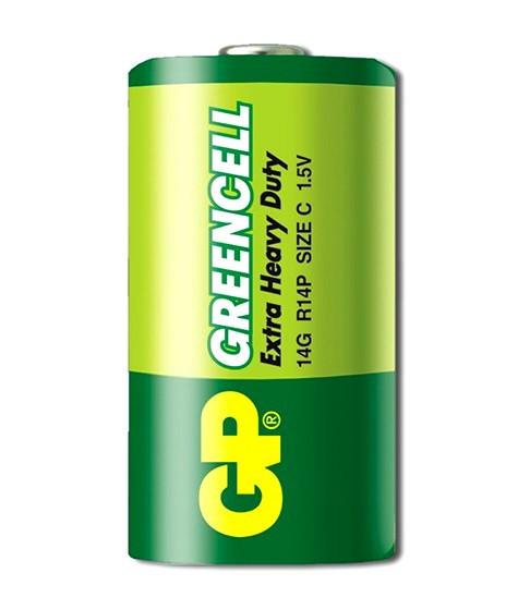 Батарейка GP Greencell R14