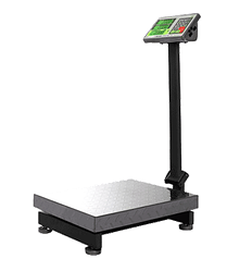 Торговые электронные весы со стойкой 100кг