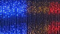 Гирлянда водопад на окно LED 180 WATER PROOF (цвета в ассортименте)