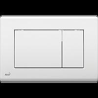 Кнопка управления для скрытых систем инсталляции AlcaPlast M270 (белая)