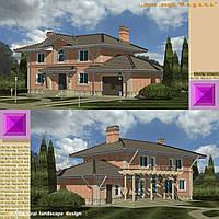 """Проект  """" M. e. g. a. n. e. """"  house: региональный коттедж. Планирование котеджных поселков - """"саттелитов""""."""
