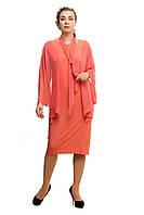 Женское нарядное платье большого размера 1705019/3, фото 1