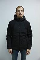 Куртка черная мужская, зимняя