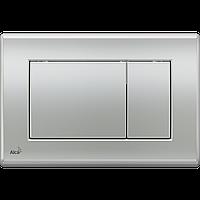 Кнопка управления для скрытых систем инсталляции AlcaPlast M272 (хром-мат)