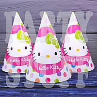 Праздничные колпачки Hello Kitty, 16 см
