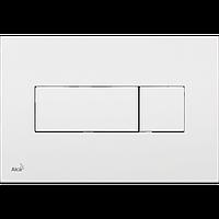 Кнопка управления для скрытых систем инсталляции AlcaPlast M370 (белая)