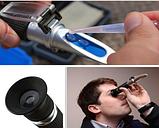 Рефрактометр для вина и пива RSG-32ATC  Brix 0-32% SG wort 1,000-1,120, фото 3