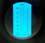 Рефрактометр для вина и пива RSG-32ATC  Brix 0-32% SG wort 1,000-1,120, фото 2