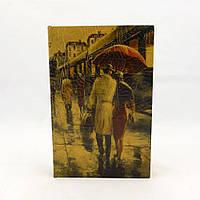 Книга - сейф Пара под зонтом 27 см