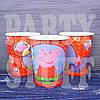 Бумажные стаканчики для детей Свинка Пеппа, 10 шт