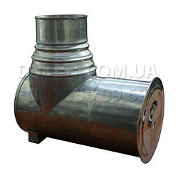 Ревизия дымохода ф110 из нержавеющй стали