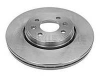 Тормозной диск передний +ABS 1.5dCi/1.6i/1.9dCi/dTi Рено Кенго Meyle 16-155210004