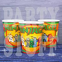 Бумажные стаканчики Ниндзяго, 10 шт