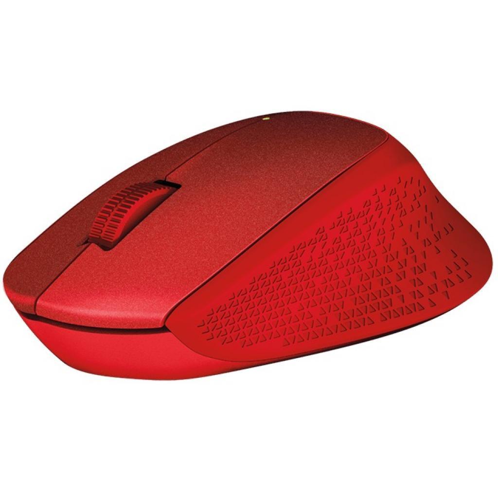 Мышка Logitech M330 Silent plus Red (910-004911)