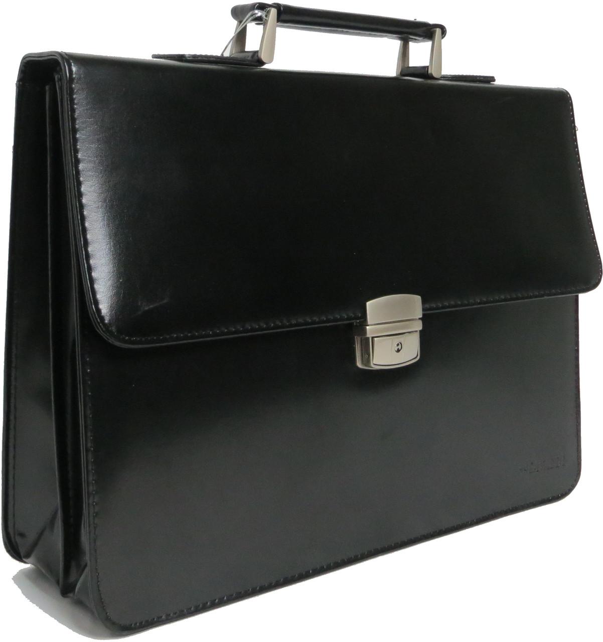 Портфель из кожезаменителя 4U Cavaldi черный