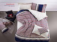 Полуторный комплект постельного белья B-0026 Sn (сатин-фотопринт) Bella Villa