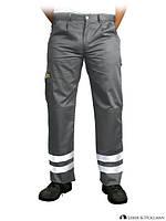 Рабочие брюки со светоотражающими полосами