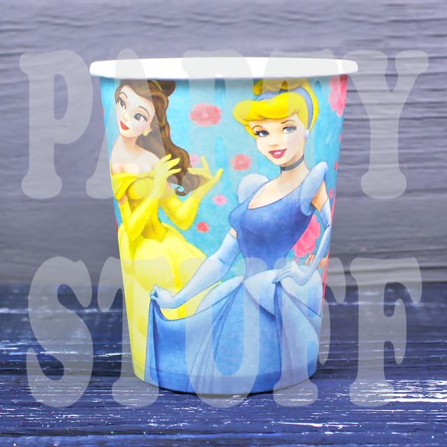 стаканчики одноразовые принцессы Дисней