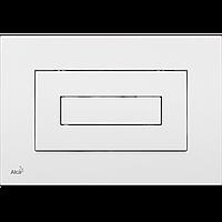 Кнопка управления для скрытых систем инсталляции AlcaPlast M470 (белая)
